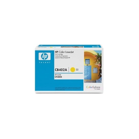 HP Yellow Print Cartridge CLJ CP4005,7500 strani(YCB402A)
